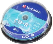 Verbatim Cd-r 52x 700mb 10-pack Spindel