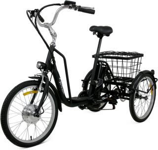 Trehjulig elcykel - 6 växlar