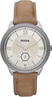 Fossil Fossila damklocka ES3066 Sydney med brunt läder rem ES3066