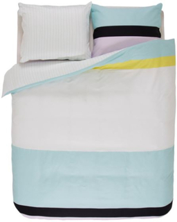 Esprit Dobbelt sengetøj - 100% Bomulds Satin - Alex Multi - 200x200 cm - Dobbelt faced