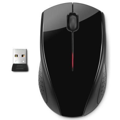 HP HP X3000 Trådløs mus, svart