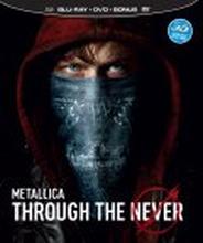 Metallica - Through the Never (3D Blu-ray + 2 DVD)