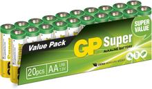 GP AA Batteri 20-pack 15A-S20 LR6