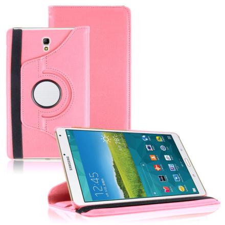 Etui obrotowe 360° do Samsung Galaxy Tab S 8.4 różowe