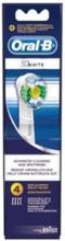 Oral-B Vaihtoharjat 3D White 4 kpl
