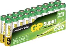 GP AAA Batteri 20-pack 24A-S20 LR03