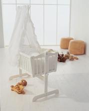 Baby Dan - Sofie Crib - Hvid (1198-01)