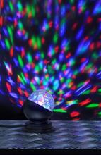 Star Trading Bordslampa Disco LED