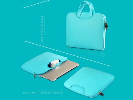 Torba pokrowiec neopren do MacBooka Air Pro 13 Niebieska