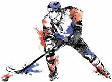 RoomMates Kids Väggdekor Men's Hockey Champion