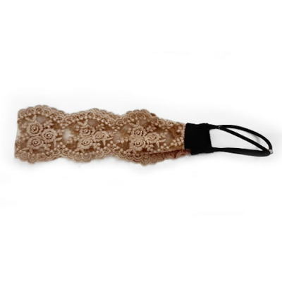 Everneed Signe Golden Brown Lace Hiuspanta One Size One Size