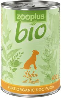 Økonomipakke zooplus Bio 18 x 400 g - Okse med bokhvete