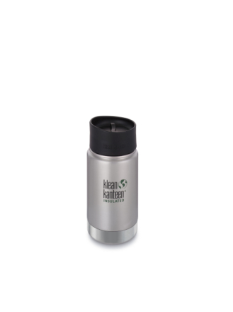 Klean Kanteen 355 ml Wide Vacuum Insulated (w/Café Cap 2.0) Brushed Stainless