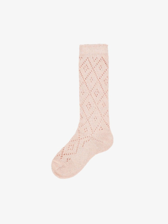 NAME IT Mini Glittery Knee Socks Women Pink