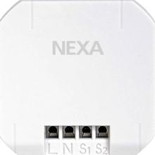 WBT-230, 2-channel transmitter, compatible with Nexa Bridge, white