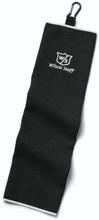 Wilson Staff Microfiber Trifold Towel-Black