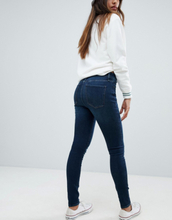 Abercrombie & Fitch high waist stretch superskinny jeans-Blue