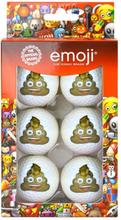 Emoji 6 Pack Fun Golf Balls - Poop