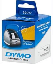 DYMO LabelWriter hvide hængemappe etiketter, 50x12 mm, 1-pack(220 stk