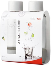 "AGA AQVIA ""on-the-go"" 0,5L, PET-flaska, 2-pack"