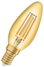 Osram Vintage 1906 LED Kron 4,5W/825 (36W) E14 - Guld