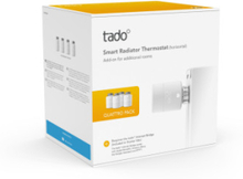 Tado Smart radiatortermostat V3+ Quattro (4 st.)