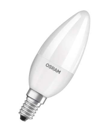 Osram Superstar LED Classic Kron 5,7W/827 (40W) E14 dimbar - Matt