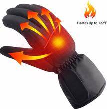 Batteridrivna värmande handskar för touchskärmar