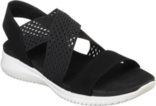 Skechers Womens Ultra Flex Sandal Black