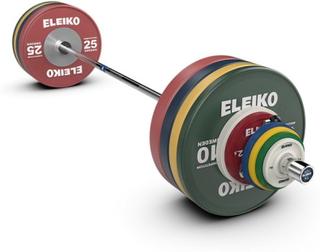 Eleiko IWF Weightlifting Competition Set - NxG, men, FG