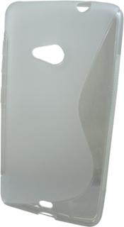 S-case till Microsoft Lumia 535 (Transparent)