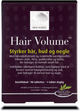 New Nordic - HairVolume - Styrker Hår Hud & Negle - 30 Tabletter