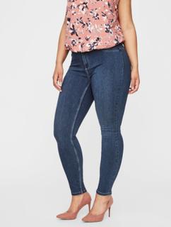 JUNAROSE Stretchy Jeans Kvinder Blå