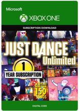 Just Dance Unlimited - 1 Year Subscription