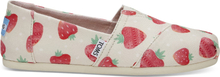 TOMS Damen Schuhe Birch Strawberries & Cream Classics - Größe 36.5