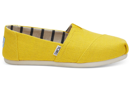 TOMS Schuhe Gelbe Classics Für Damen - Größe 43.5