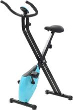 vidaXL Kokoontaitettava Xbike Kuntopyörä 2 5 kg Musta Sininen