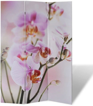 vidaXL Taitettava tilanjakaja 120x170 cm kukka