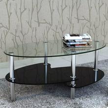 vidaXL Sohvapöytä yksilöllinen 3-tasoinen muotoilu Musta