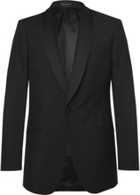Richard James - Black Slim-fit Wool And Mohair-blend Tuxedo Jacket - Black - M,Richard James - Black Slim-fit Wool And Mohair-blend Tuxedo Jacket - Black - XL