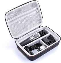 Waterproof EVA Hard Case for Philips Norelco Multigroom Series 3000 5000 7000 MG3750 MG5750/49 MG7750/49 Electric Shaver Storage