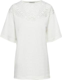 T-Shirt L/S T-shirt Top Hvid Brandtex