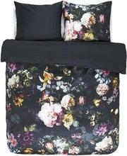 Dobbelt Sengetøj - 200x220 cm - Essenza Fleur Nightblue - sengesæt