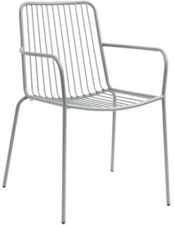 Nordal Trädgårdsstol med armstöd 83x55 cm - Grå