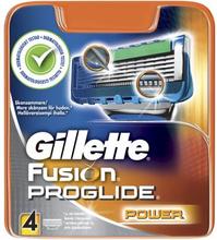 Gillette Gillette Fusion Proglide Power 4 kpl partateriä