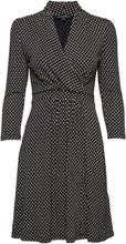 Caressa Meadow Jersey V Neck Wrap Dress Kort Kjole Blå French Connection