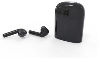 i7S TWS Trådlösa Bluetooth In-Ear Hörlurar med laddbox (Färg: Svart)