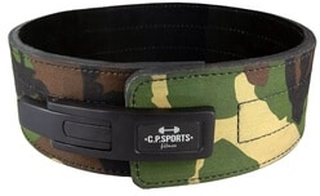 Powerlifting Lever Belt, camo, C.P. Sports