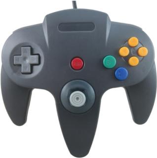 Handkontroll till Nintendo 64 (Svart)
