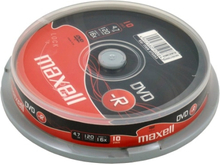 Maxell DVD-R 4,7GB 16x 10-pack Spindel